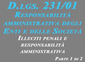 D.Lgs 231/01 Responsabilità amministrativa degli enti