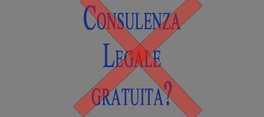 Consulenza legale on-line gratuita