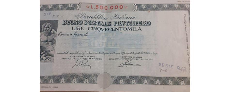 Buono fruttifero postale serie P/Q - Poste Italiane - come ottenere maggior rimborso
