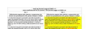 Coronavirus, sospensione udienze, sospensione, decreto legge 8 20